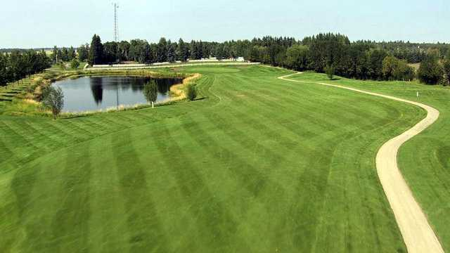 A view of a fairway at Gleniffer Lake Resort and Country Club