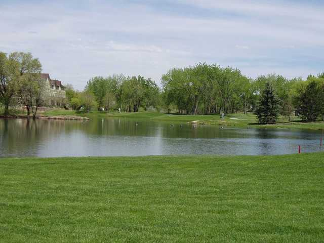 A view from Littleton Golf and Tennis Club.