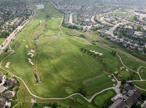 Aerial view from Lone Tree Golf Club & Hotel