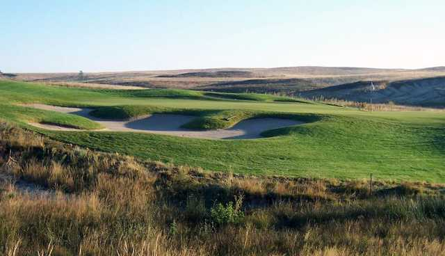 A view towards green #11 at Antler Creek Golf Course