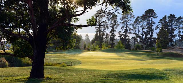 View from Ballarat Golf Club