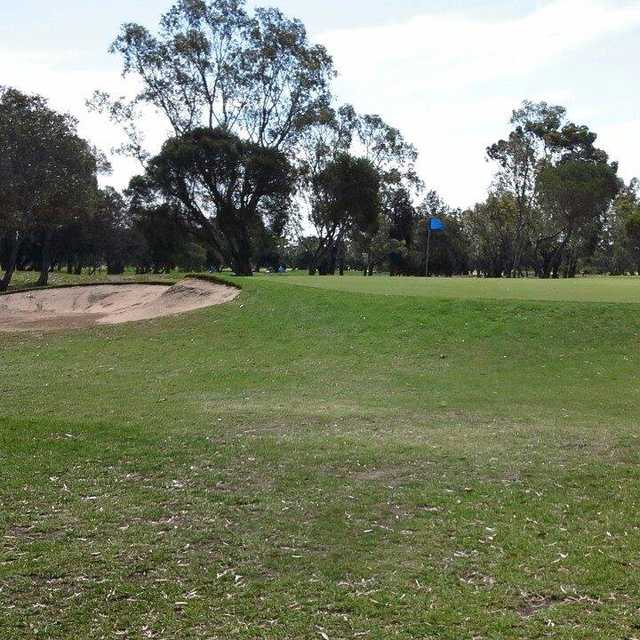 A view of a hole at Barwon Valley Golf Club