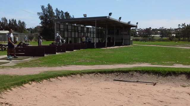 A view of the driving range at Barwon Valley Golf Club