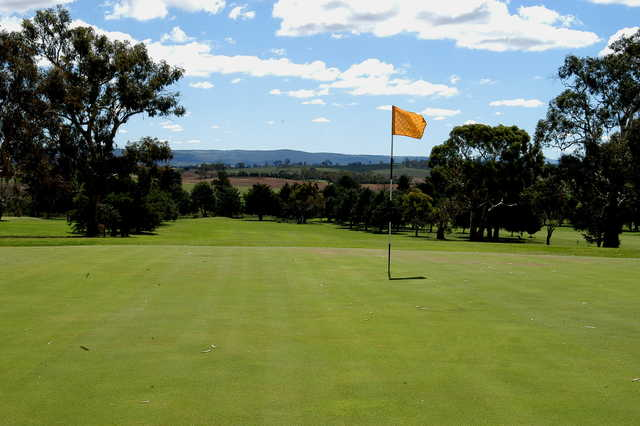 View from the 6th green at Cooma Golf Club