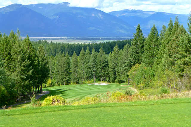 A view of hole #12 at Creston Golf Club