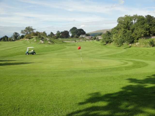 A view of hole #2 at 9-hole Course from Casterton Golf Club