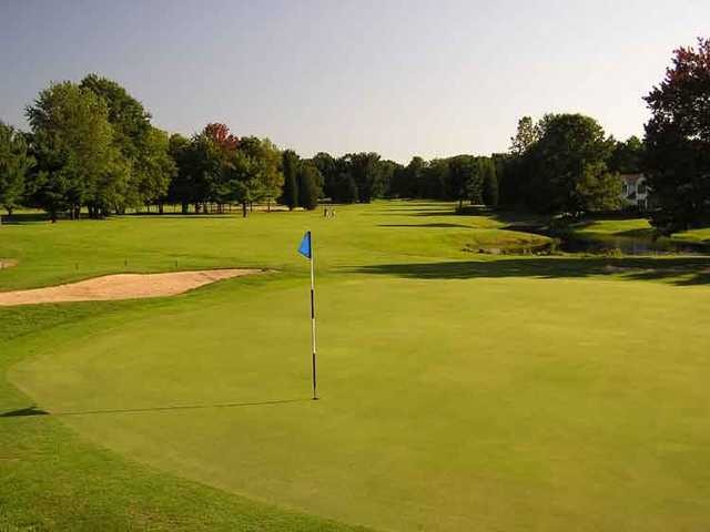 A view of green at Clearbrook Golf Club