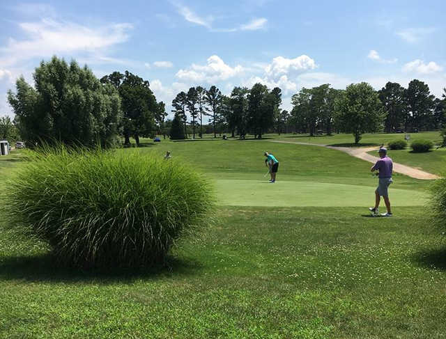 A view of a hole at Randel-Hinkle Municipal Golf Course