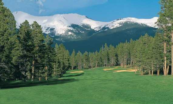 A view of the 2nd hole at Meadow Course from Pole Creek Golf Club