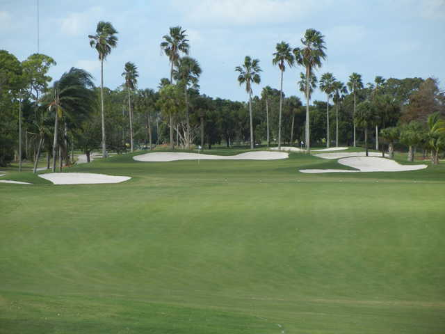 View of the 7th hole at Atlantic National Golf Club