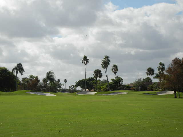 View of a green at Atlantic National Golf Club
