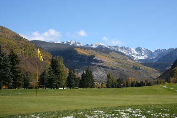 A view from Vail Golf Club