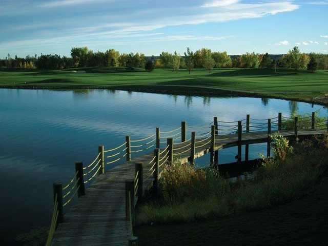 A view from Pelican Lakes Golf & Country Club.