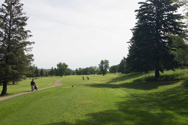 A view from tee #17 at Wheat City Golf Course