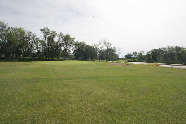 A view of the 11th green at Wheat City Golf Course