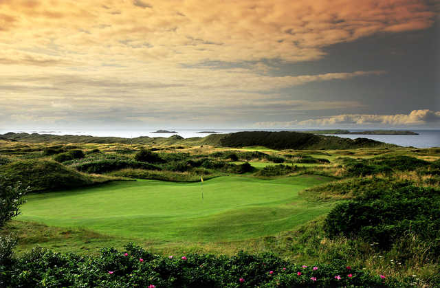 A view of a hole at Royal Portrush Golf Club