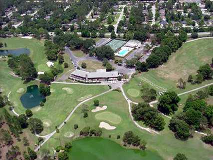 Aerial view from Turkey Creek Golf Course
