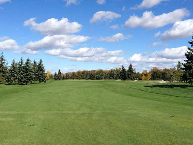 A view of the 16th hole at Kingswood Golf and Country Club