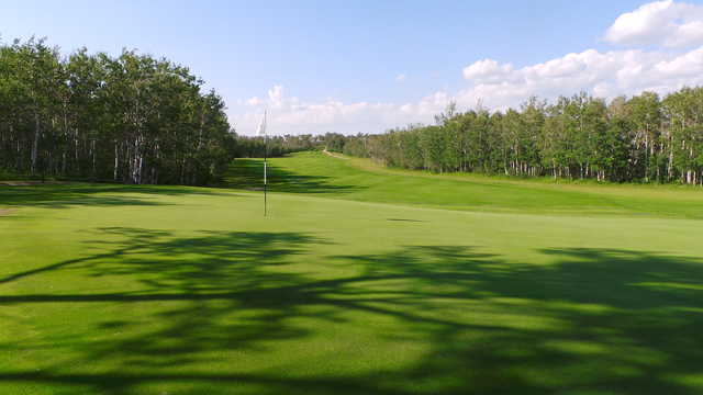 A view of the 10th hole at Shilo Country Club