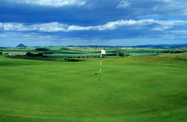 A view from the 3rd green at Gullane 2 Golf Club