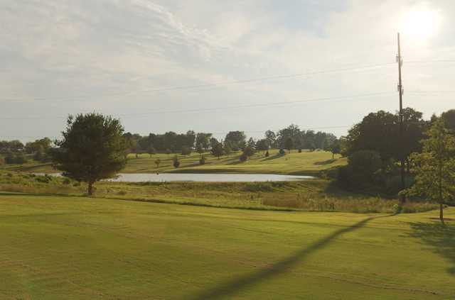 A view from Kenny Perry's Country Creek Golf Course