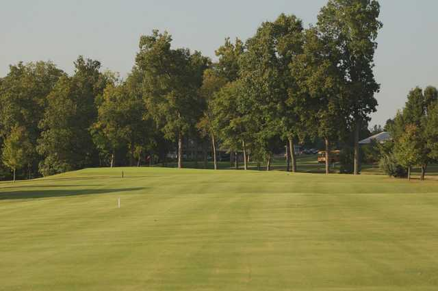 View of a green at Kenny Perry's Country Creek Golf Course