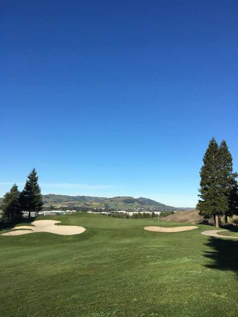 A view from Canyon Lakes Golf Course & Brewery