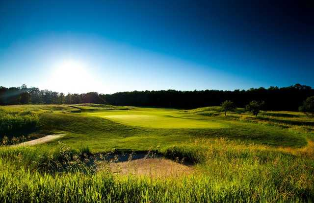 A view of a green from The Tradition at Treetops Resort