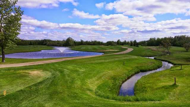 A view of tee #1 at Transcona Golf Club