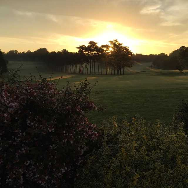 Sunset view from Lurgan Golf Club