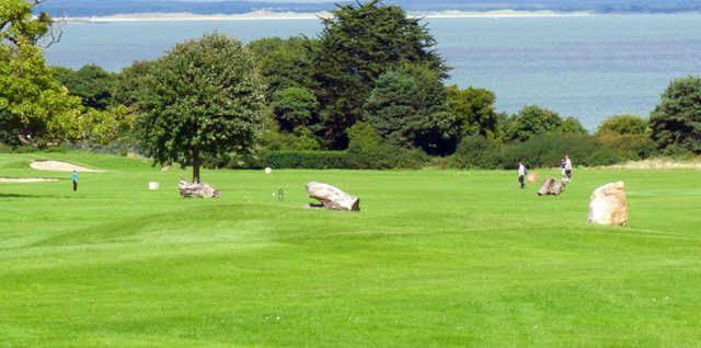 A sunny day view from Deer Park Golf and FootGolf