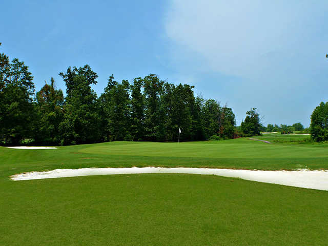 View of a green from South at Andrews AFB Golf Course