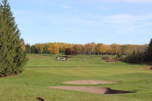 A fall day view from Royal Ashburn Golf Club
