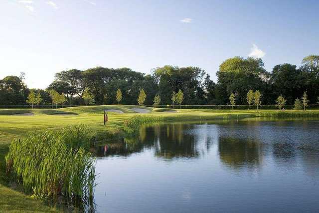 Fota Island Golf Club - Barryscourt 8th