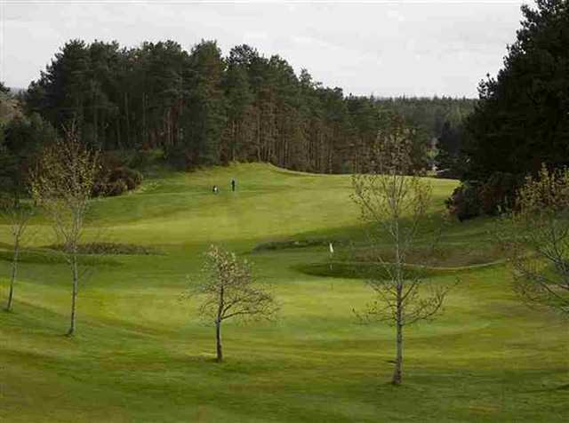 Sweeping hole at Forres GC