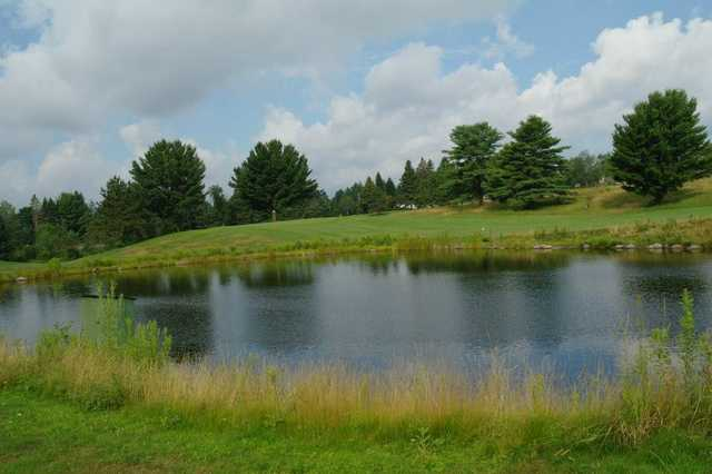 A view over the water from Bancroft Golf Course