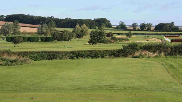 A view over the Kelso golf course