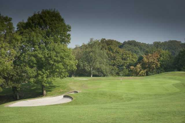 View from the Acorns course at Woodbury