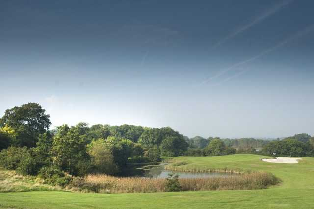 View from the Woodbury 9 hole golf course