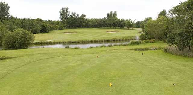 The 2nd hole at Hurlston Hall