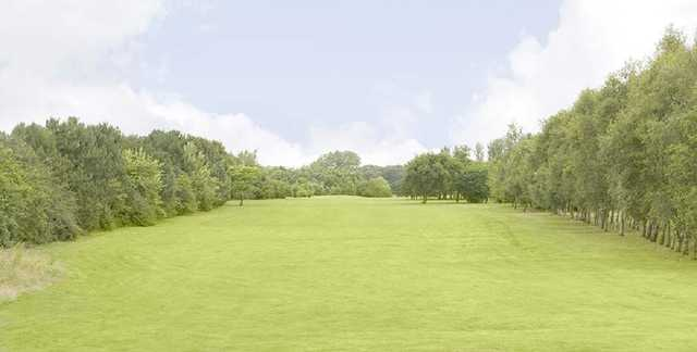 The 14th hole at Hurlston Hall