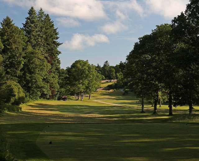 The 5th hole at Bovey Castle
