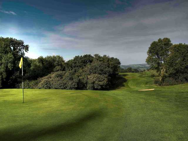The stunning 10th hole at Bovey Castle
