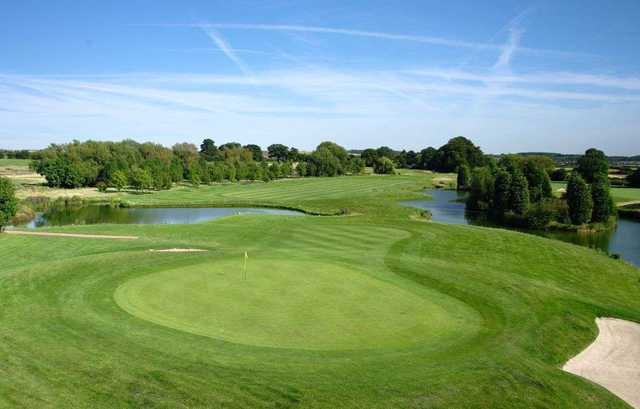 The 7th hole on the Championship course at the Nottinghamshire Golf Club