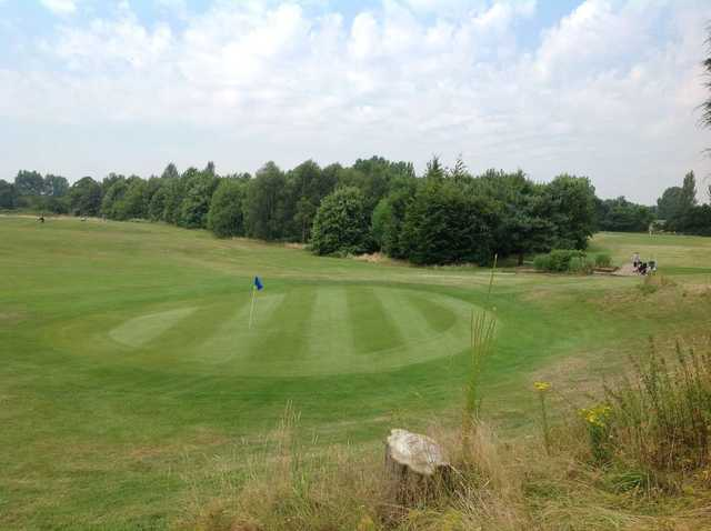 Scenic view of the 6th green at Orpington Golf Course