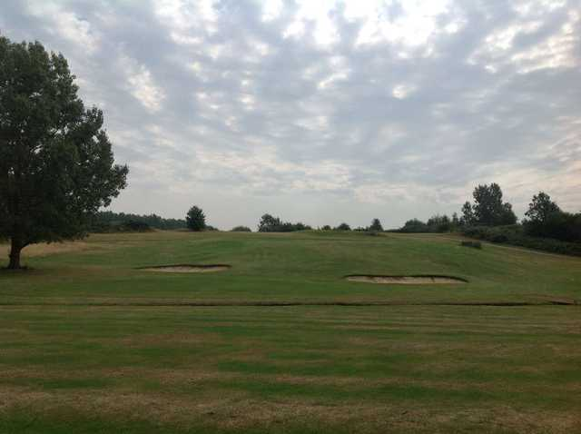 The 12th approach on Cray Valley at Orpington Golf Course