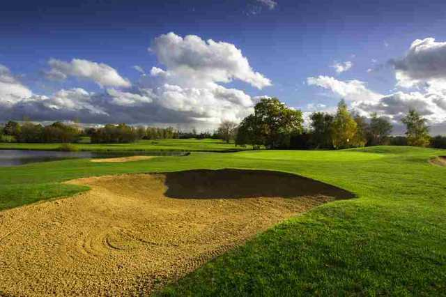 Bunker at Stapleford Abbotts GC