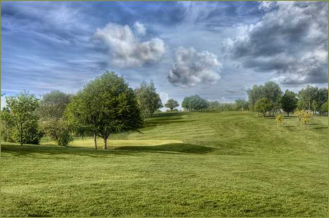 The stunning Bearsted golf course fairways
