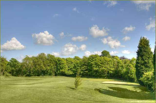 The Bearsted parkland golf course