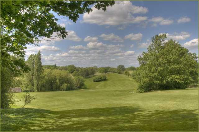 A view of the golf course at Bearsted